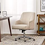 Serta Style Leighton Home Office Chair, Twill Fabric, Beige For Sale