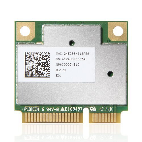 Atheros AR9832 AR5BHB116 2.4/5 GHz Single-chip 300 Mbps 802.11n MINI PCI-E Wireless Card by Atheros (Image #1)