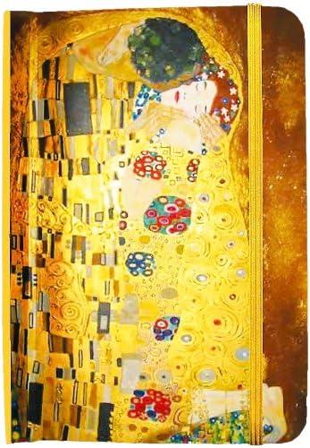 """Fridolin 68052 Adressbuch""""Klimt - Der Kuss"""""""