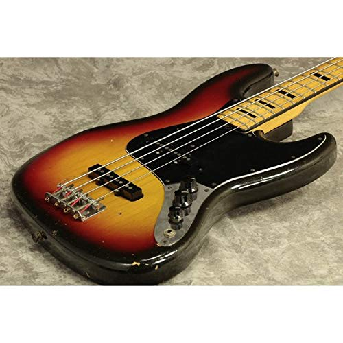 Fender USA/Vintage Jazz Bass 74-5 3 Tone Sunburst Maple フェンダー B07QWJX23W