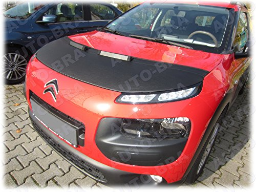 AB2-00078 HOOD BRA Front End Nose Mask for Citroen C4 Cactus since 2014 Bonnet Bra STONEGUARD PROTECTOR TUNING