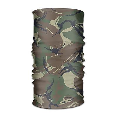 Jadetian Camouflage Exture Men's Headwear Womens Bandanas Outdoor Headscarf Elastic Bandanas Handkerchief