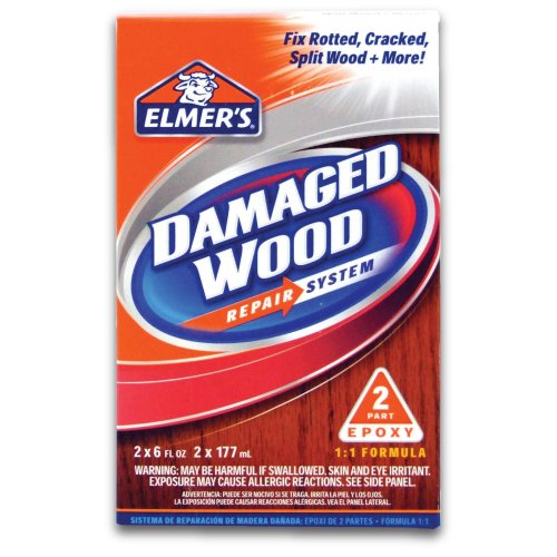 Elmer's E761L E761Q Wood Repair System, 6 oz, White