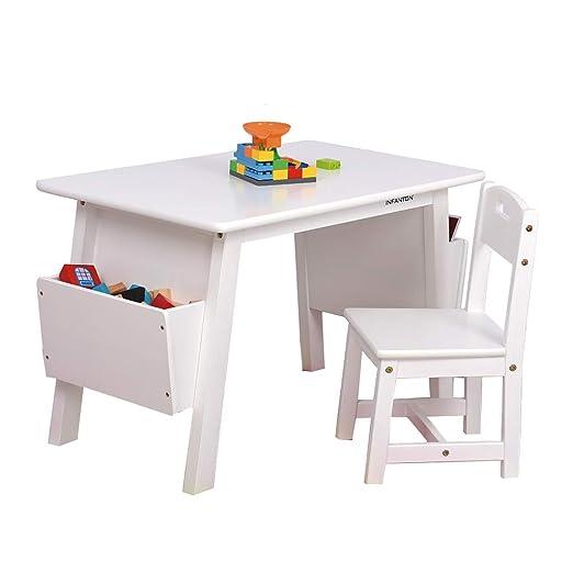 Juegos de mesas y sillas Juego de mesa y silla de madera maciza ...