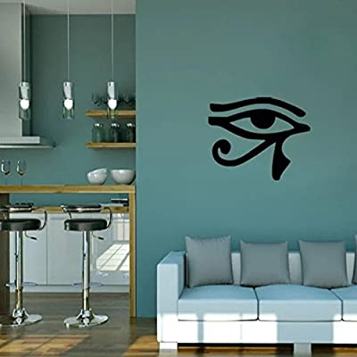 "OKBUY WALL STICKERS 23.6"" X 49.2"" Audrey Hepburn Beautiful Eyes Removable Wall Art Decal Sticker Decor Mural DIY Vinyl"