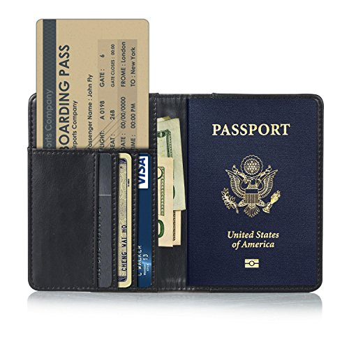 RFID Blocking Passport Holder