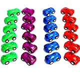 Racer Cars Pull Back - Let Go 2 Inch Racer Cars - Pack of 12 Cars - Assorted Car Colors
