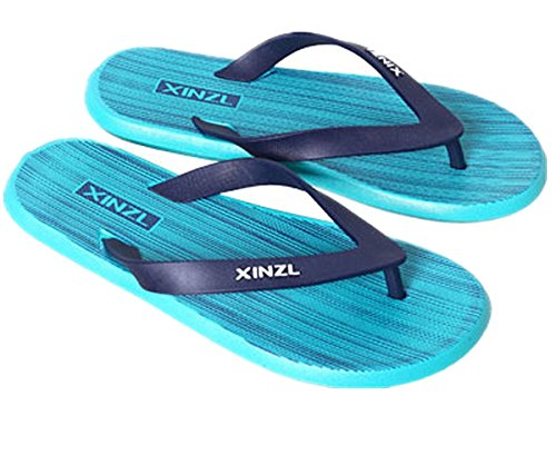 Fashionable Sandal ANBOVER Flip Flop Blue Mens Comfortable Thong Beach aSSIxZvqn