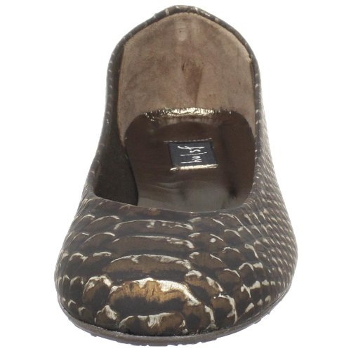 French Sole FS/NY Womens Boa Flat Bronze qkKpul