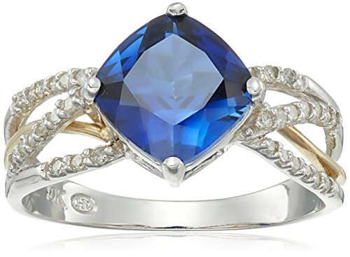 10k-white-and-yellow-gold-created-blue-sapphire-and-diamond-ring-1-7cttw-i-j-color-i2-i3-clarity-siz
