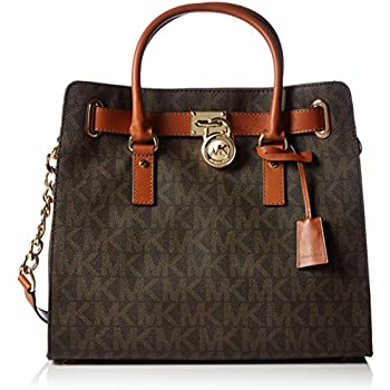amazon com michael kors womens textured signature tote handbag rh amazon com