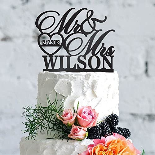 Personalized Wedding Toppers Custom Decoration