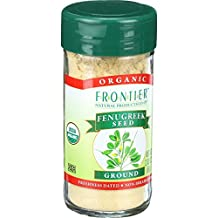 Frontier Natural Products Fenugreek Seed, Og, Ground, 2.24-Ounce