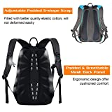 New! Mixi Lightweight Durable Water Resistant Backpack Daypack Hiking Travel Camping School Outdoor Backing for Men Women