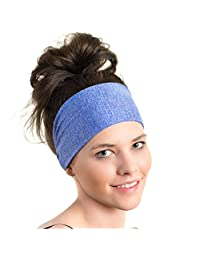 Lightweight Sports Headband - Non Slip Moisture Wicking Sweatband - Ideal for Running, Biking and Athletic Workouts – By Red Dust Active