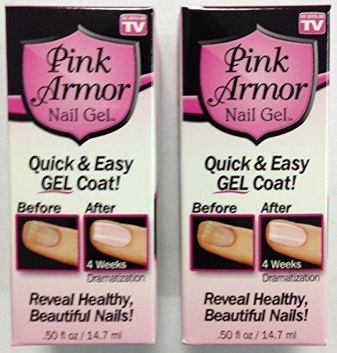 Pink Armor Nail Gel 0.5 fl oz by Pink Armor