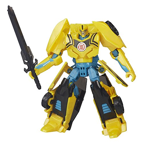 Transformers Robots in Disguise Warrior Night Strike Bumblebee Action - Bee Weapons Bumble Robot