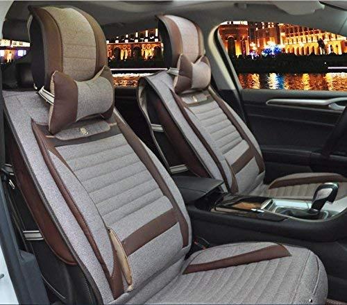 【レビューで送料無料】 カーカーシートプロテクター用シートカバー 一般的な車のクッションカバーリネンデラックス版(8セット)一般的な車のクッションカバーフォーシーズンズユニバーサル5色オプション 5 カーシートクッションカーシートマット (色 : 2) 5 2) B07PDKT4RD 5 5, シモキタグン:bc4c17c7 --- quiltersinfo.yarnslave.com