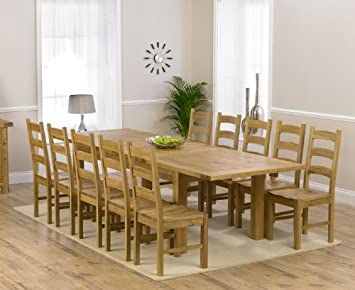 Superb Corona Oak Dining Furniture Extra Large Extending Dining Ncnpc Chair Design For Home Ncnpcorg