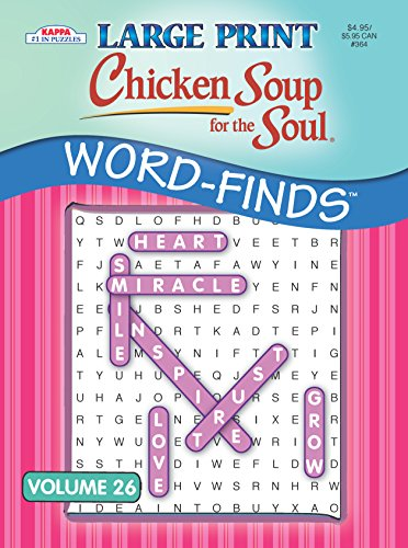 - Chicken Soup for the Soul LARGE PRINT Word-Finds Puzzle Book-Word Search Volume 20