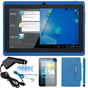"""7"""" .TAB Nero x2 Dual Core Android 4.1 Multi-Touch Tablet PC (Blue)"""