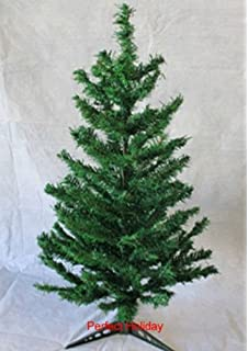 perfect holiday pvco 4 canadian pine 4 pvc christmas tree evergreen - Charlie Brown Artificial Christmas Tree