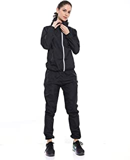 Black Sweat Suit Women's Suit Slimming Clothes Fat Burning Sports Fever Fitness Clothing Explosion Belly Abdomen Fat Reduction Large Size Shirt