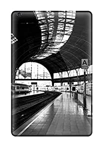 New Style ZippyDoritEduard The Metro In Black And White Photography People Photography Premium Tpu Cover Case For Ipad Mini/mini 2