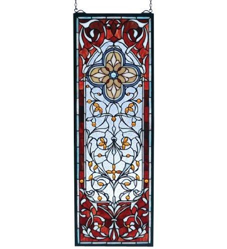 Meyda Tiffany Versaille Quatrefoil Window Panel ()