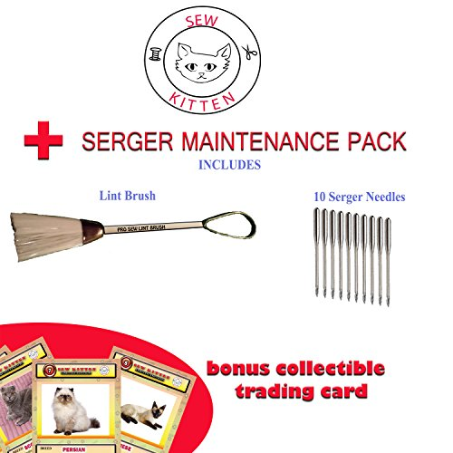 Upper and Lower Brother Serger street fighting techniques  maintenance pack Parts