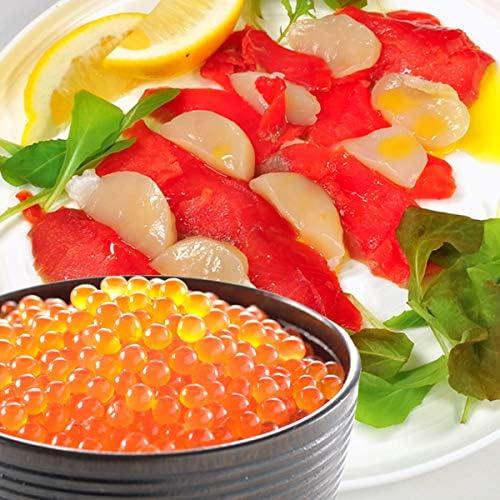 サーモン専門店岩松 いくら 醤油漬け アラスカ 100g 紅鮭スモークサーモン 300g