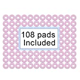 Corn Cushions 1'' Corn Pads Sticky-Waterproof for Corn Callus and Feet Sore 108 count