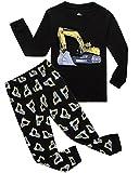 IF Pajamas Bulldozer Baby Boys Pajamas Sets 100% Cotton Clothes Infant Kids 18-24 Months