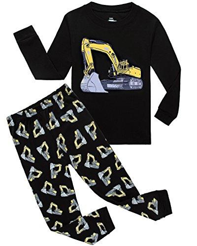 Pajamas Bulldozer Little Toddler Sleepwears product image
