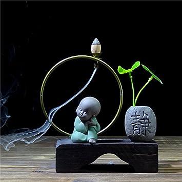 Chinesische Zen Keramik Kreative Reflux Weihrauch Brenner Kleine