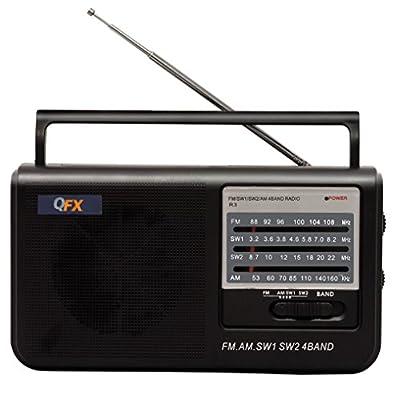 QFX R-3 Retro AM/FM Radio from QFX