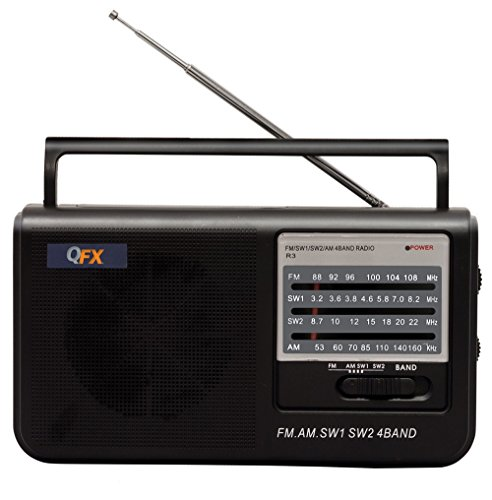 QFX R-3 Retro AM/FM Radio