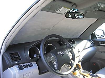 The Original Auto Sunshade, Toyota Highlander SUV 2008-2013 Custom-Fit Sunshield