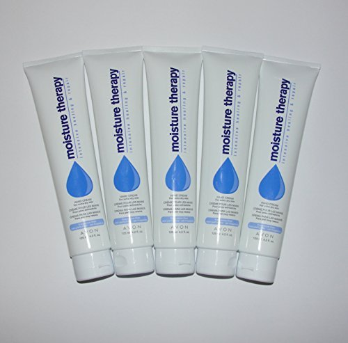 Avon Moisture - Avon Moisture Therapy Intensive Healing & Repair Hand Cream Lot of 5 125ml 4.2fl