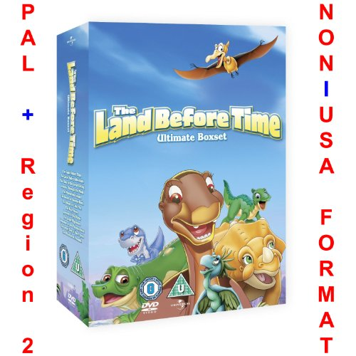 The Land Before Time Complete 1-13 DVD Box Set Ultimate Collection [NON-U.S.A. FORMAT: PAL Region 2 U.K. Import]