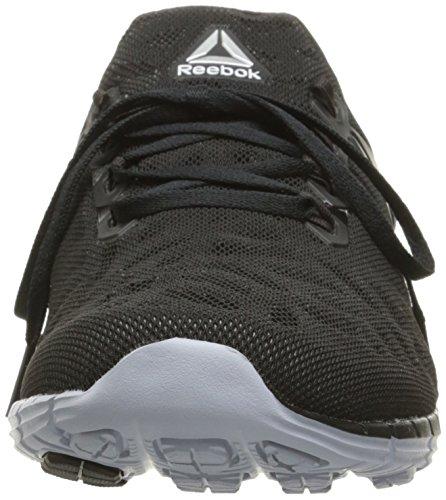 Grey White Black Womens Coal Fusion Cloud Reebok Shoe Zpump Running wzBqn6F0