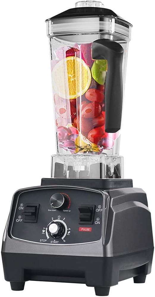 FXXJ Licuadora Smoothie del Fabricante, 2200w Comercial procesador de Alimentos Mezcla 4 presets, Libre de BPA Tritan Jarra y de sabotaje: Amazon.es