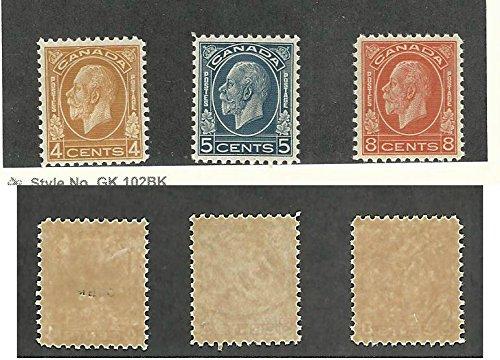 Canada, Postage Stamp, 199-200 Mint Glazed Gum, 1932