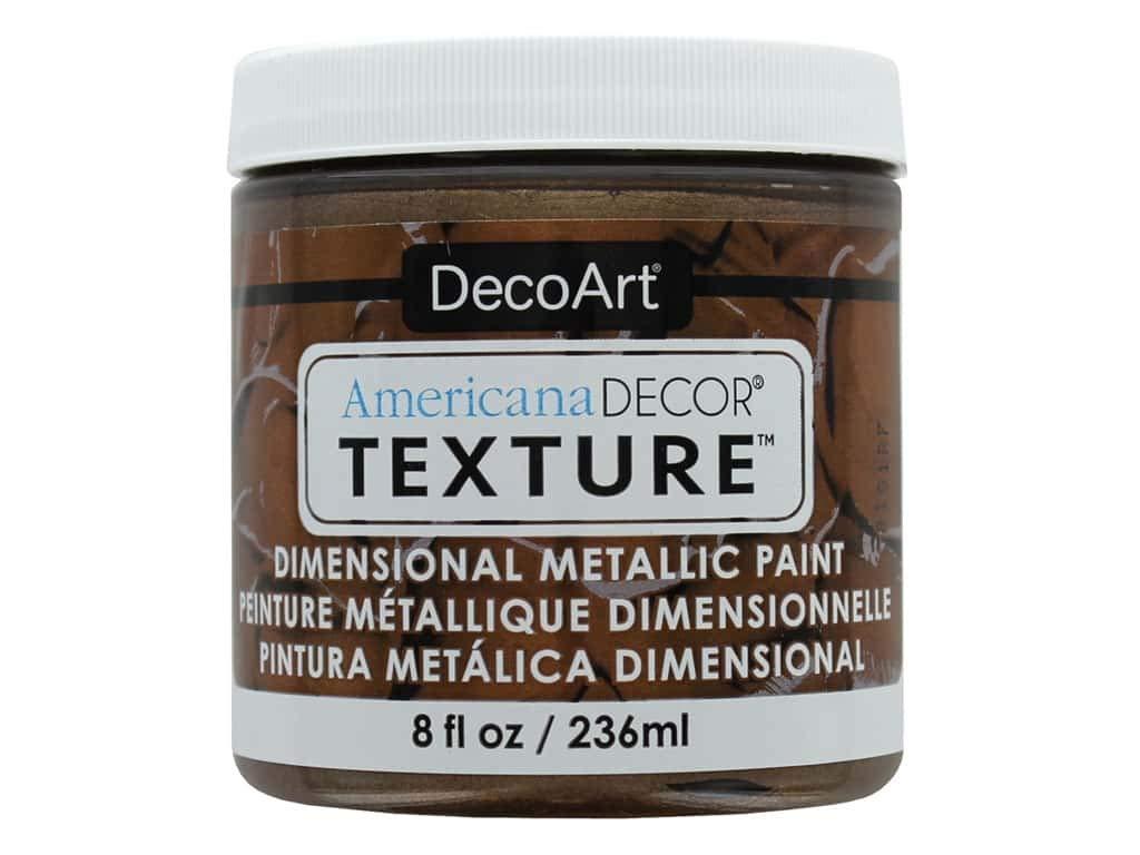DecoArt Americana Decor Texture MTLC Deep Bronze