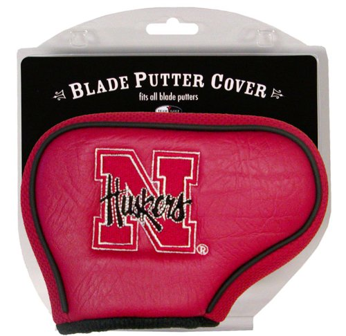 Team Golf NCAA Nebraska Cornhuskers Golf Club Blade Putter Headcover, Fits Most Blade Putters, Scotty Cameron, Taylormade, Odyssey, Titleist, Ping, Callaway ()