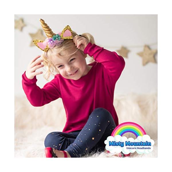 USA Toyz Unicorn Headband Party Favors - 6pk Unicorn Party Supplies, Unicorn Horn Headbands for Girls and Boys 8