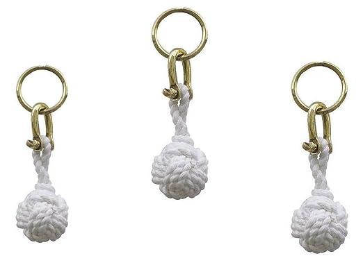 3X Llaveros - nudos decorativos, nodo de tiro con grilletes ...