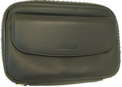 Martin Wess Germany ''Lea'' Soft Lamb Nappa Leather 8 Pipe Bag Case with Office Compartment by Martin Wess