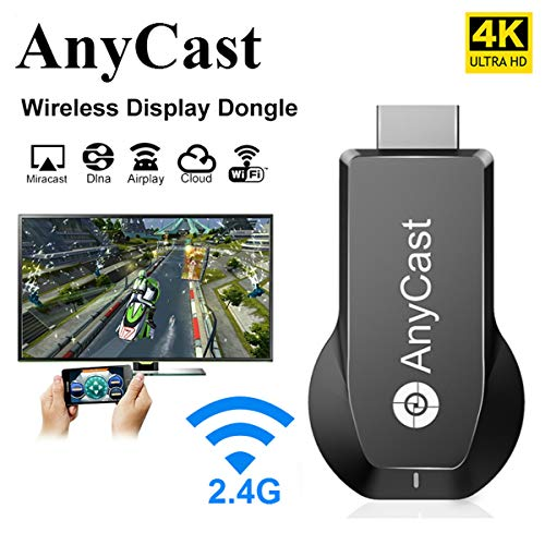 Best Deals! Anycast HDMI Wireless Display Adapter WiFi 1080P 4K M2 Plus Mobile Screen Mirroring Rece...