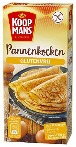 Koopmans Pannenkoeken Glutenvrij bakmix (6x 400g multipack), mix voor 12 pannenkoeken